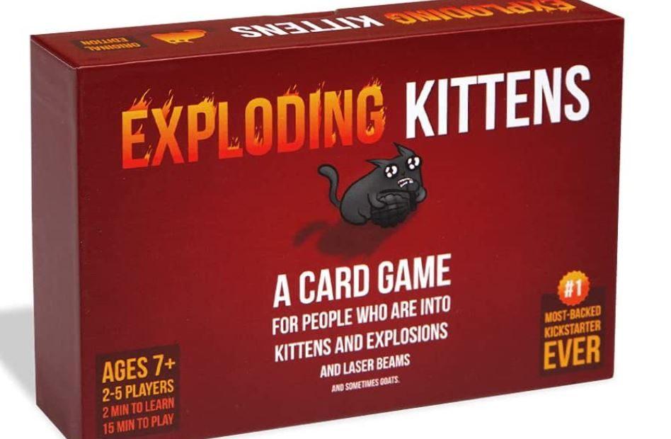 Exploding Kittens : le top des jeux de voyage
