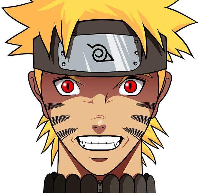 Le kaléidoscope dans Naruto