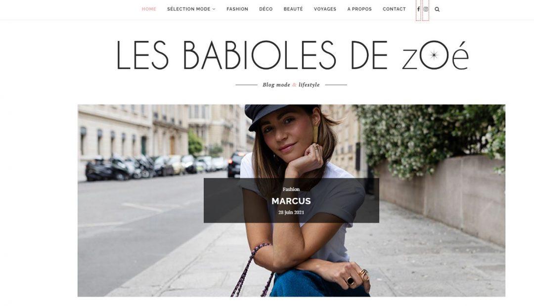Le site Web lesbabiolesdezoe.com