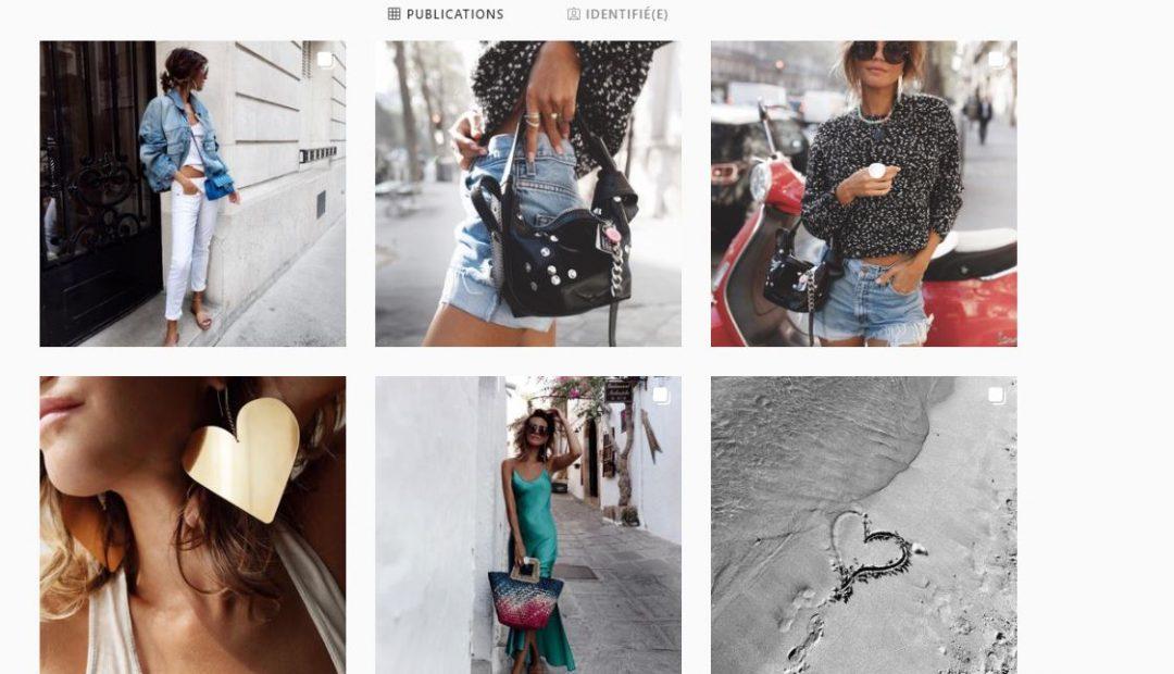 Feed Instagram des Babioles de Zoe
