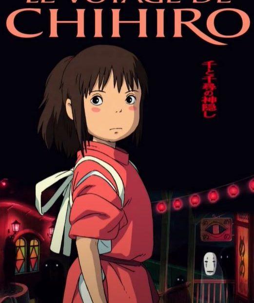 Jaquette Le voyage de Chihiro